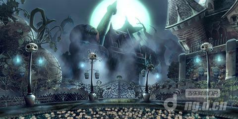 《苍翼之刃》魔幻高清场景原画曝光 游戏场景抢先看